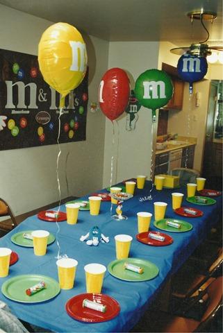 M m party ideas family reunion helper for M m decorations parties