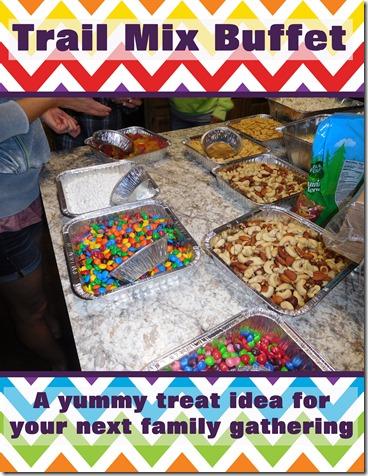 trail mix buffet